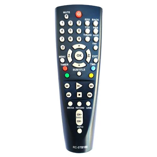 Фото - Пульт ДУ к DVB-приставке BBK RC-STB100 пульт huayu rc0105 stb 105 для dvb ресиверов bbk