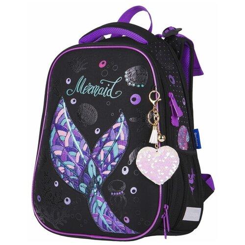 Купить Berlingo ранец Expert Mermaid, черный/фиолетовый, Рюкзаки, ранцы