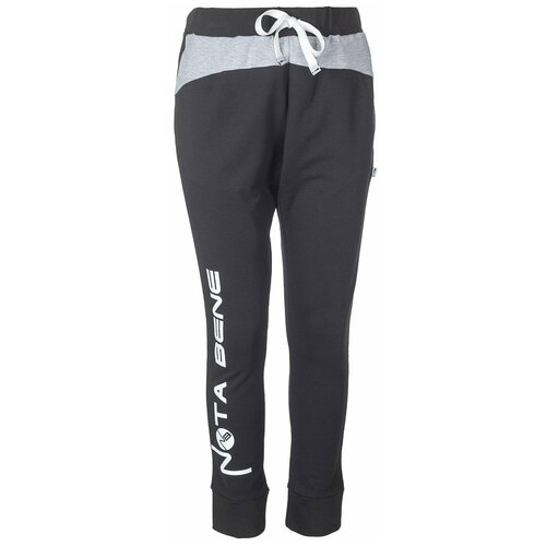 Фото - Спортивные брюки Nota Bene размер 140, черный спортивные костюмы nota bene брюки спортивные для мальчика 192170601