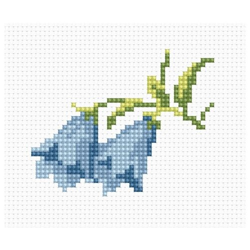 Купить Набор для вышивания «Колокольчики», 7, 5x6 см, Luca-S, Наборы для вышивания