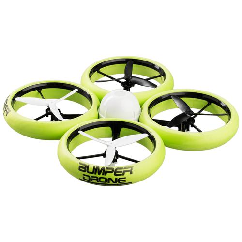 Купить Квадрокоптер Silverlit Bumper Drone зеленый, Квадрокоптеры