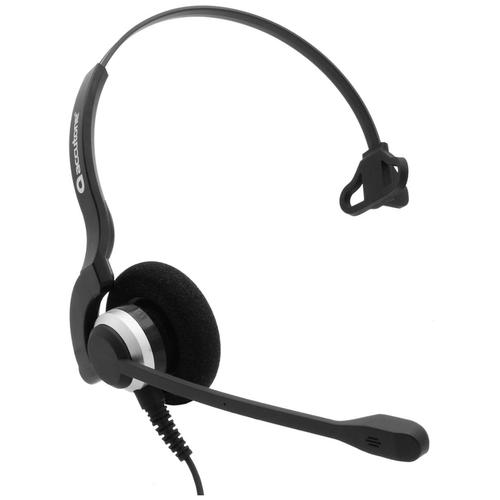 Проводная гарнитура Accutone TM910 QD черный/серебристый