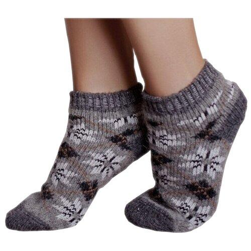 Следы шерстяные Бабушкины носки P6R 58-1 размер 35-37