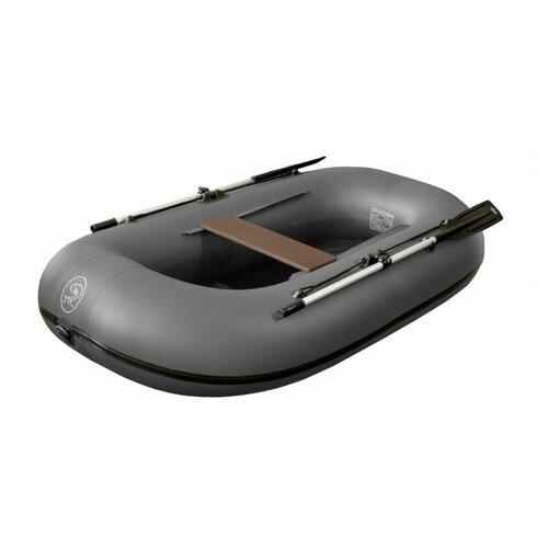 Надувная лодка BoatMaster 250 Эгоист серый