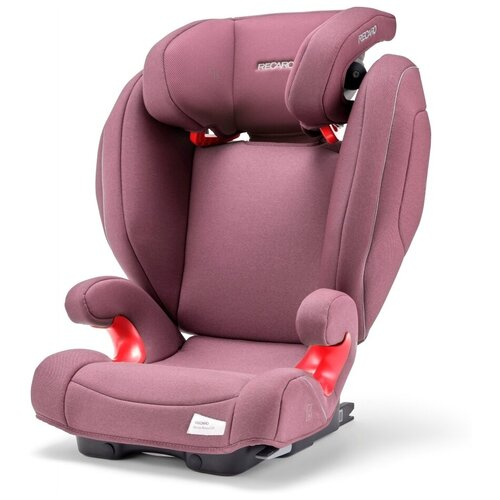 Автокресло группа 2/3 (15-36 кг) Recaro Monza Nova 2 SeatFix, Prime Pale Rose автокресло группа 2 3 15 36 кг recaro monza nova 2 seatfix xenon blue