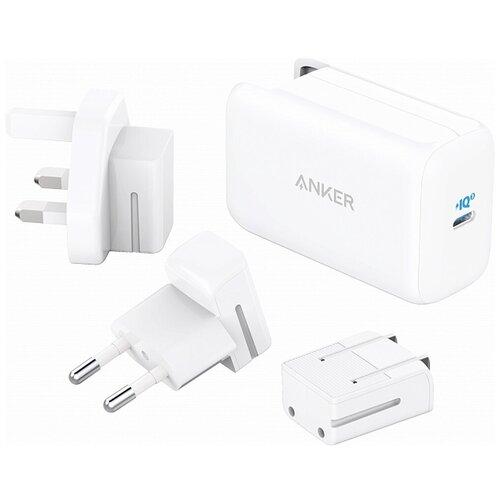 Фото - Сетевое зарядное устройство Anker PowerPort III 1хUSB-C 65W белое сетевое зарядное устройство anker powerport pd 4 100w 2xusb 2xusb c белое