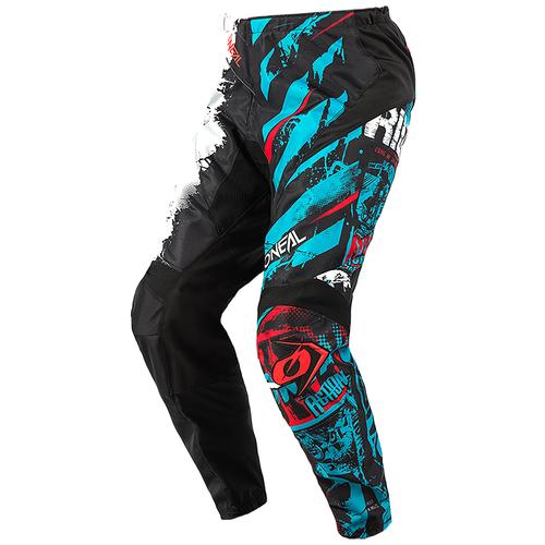 Текстильные мотобрюки O'Neal Element Youth Ride black/blue 24 (Размер производителя)