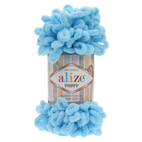 Купить Пряжа для вязания Alize 'Puffy' 100г 9м (100% микрополиэстер) (287) 5 мотков