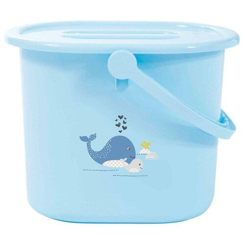 Купить Ведро для наполнения, слива ванночки и использованных подгузников Bebe Jou китенок, Bebe-Jou, Сиденья, подставки, горки