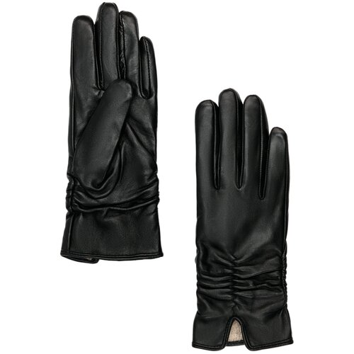 Перчатки женские Finn Flare, цвет: черный A19-11302_200, размер 6,5