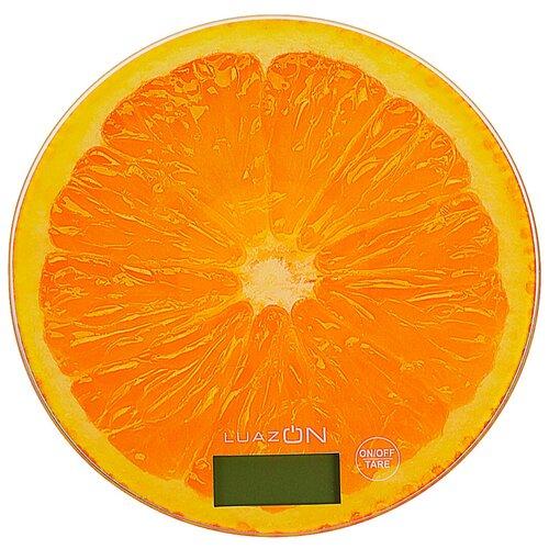 Кухонные весы Luazon LVK-701 апельсин