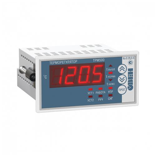Промышленный измеритель-регулятор температуры овен ТРМ500-Щ2.5А