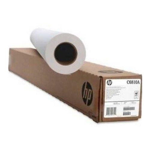 Фото - HP C6810A Бумага без покрытия для плоттера матовая белая, рулон A0 36 914 мм x 91 м, 90 г/м2, Bright White Inkjet Paper, втулка 2 50.8 мм, для водорастворимых и пигментных чернил bright white inkjet paper q1446a