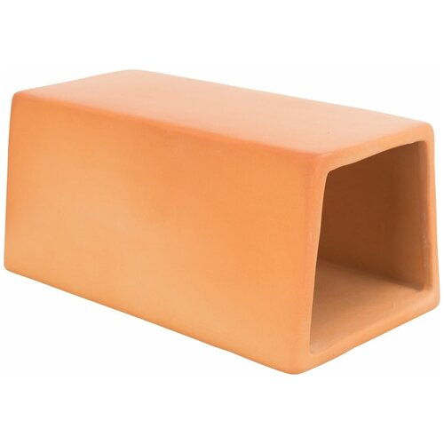 Туннель для мышей из керамики, 15 х 7 х 8 см, терракотовый, Trixie (товары для животных, 61376)