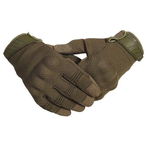 Перчатки с кевларовой нитью (олива), 2XL