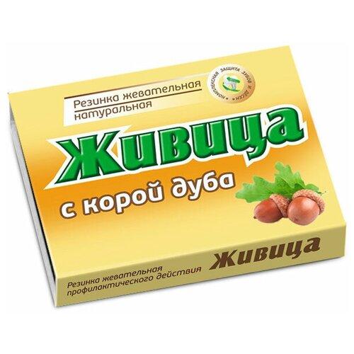 Жевательная резинка Алтайский нектар Живица с корой дуба, 4 г