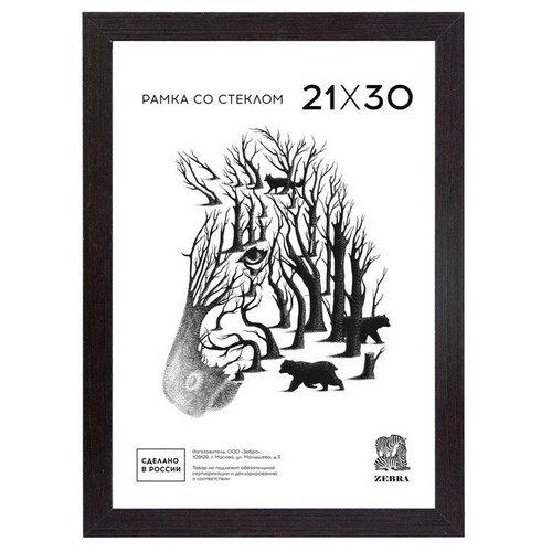 Рамка формат А 4 цвет венге со стеклом МДФ 105 2 шт.