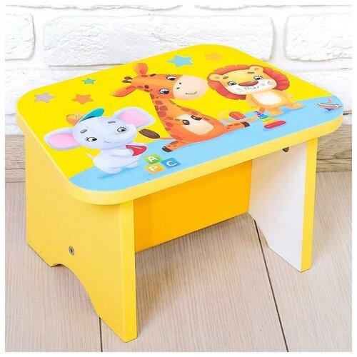 Купить ZABIAKA Стул-подставка для умывания «Игрушки», детский, Сиденья, подставки, горки