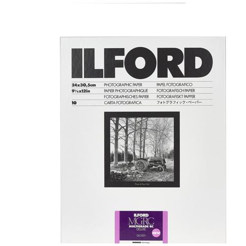Фото - Бумага ILFORD Multigrade RC Deluxe, 24x30.5 см, белый фотобумага ilford multigrade rc deluxe 24 x 30 5 см перламутровая 10 л