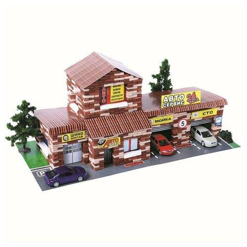 Купить Архитектурное моделирование Конструктор из кирпичиков «СТО», 1240 деталей, Конструкторы