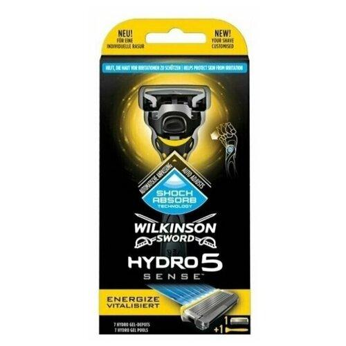 Купить Wilkinson Sword Hydro 5 Sense Energise Vitalisiert / Станок бритвенный с 2 сменными кассетами.