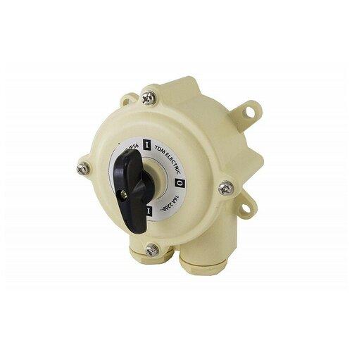 Пакетный выключатель ПВ1-16 1П 16А 220В IP56 TDM, цена за 1 шт