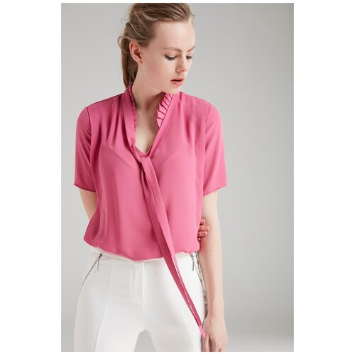 Блуза adL, размер 40/XS, розовый
