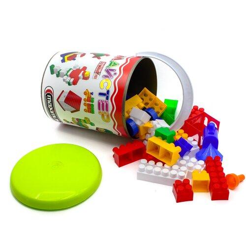 Конструктор детский блочный разноцветный из 33 элементов MAXIMUS Мастер / конструктор для мальчиков / развивающие игрушки / конструкторы для девочек / конструкторы для мальчиков / конструктор для девочек / детский конструктор