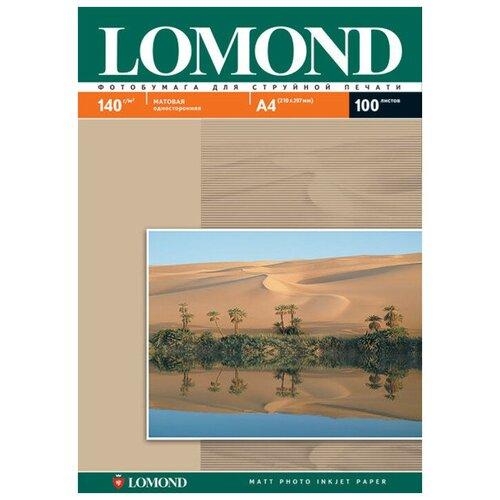Фото - Фотобумага Lomond A4 140g/m2 матовая односторонняя 100 листов 102074 фотобумага lomond a3 230g m2 глянцевая односторонняя 50 лист