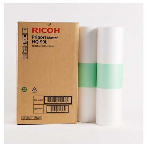 Фото - Мастер-пленка Ricoh Master Tape HQ-90L (893265) 18 30mm 5m kawaii rainbow life washi tape diy decoration tape scrapbooking planner masking tape adhesive tape label stationery