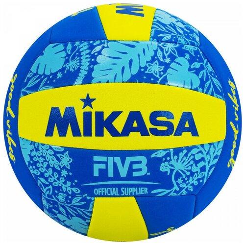 Мяч для пляжного волейбола MIKASA BV354TV-GV-YB