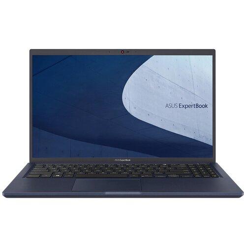 Фото - Íîóòáóê ASUS ExpertBook B1 B1500CEAE-BQ0466T Intel Core i5 1135G7 2400MHz/15.6/1920x1080/8GB/512GB SSD/Intel Iris Xe Graphics/Windows 10 Home (90NX0441-M06000) Black ноутбук asus vivobook s15 s533ea bn129t intel core i5 1135g7 2400mhz 15 6 1920x1080 8gb 512gb ssd intel iris xe graphics windows 10 home 90nb0sf3 m03710 черный