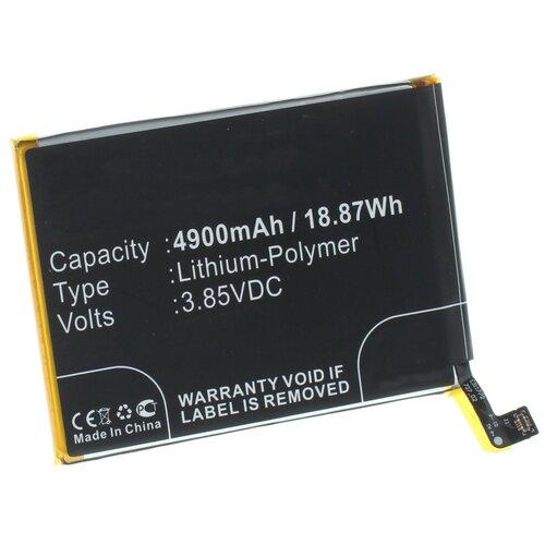 Аккумуляторная батарея iBatt 4900mAh для Oppo BLP729