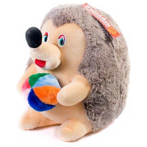 Купить Мягкая игрушка Ежик с мячом 40 см, Нижегородская игрушка, Мягкие игрушки