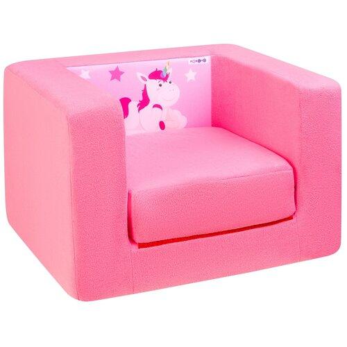 Кресло-кровать PAREMO детское PCR320 Дрими Крошка Перси размер: 52х45 см, обивка: ткань, цвет: розовый
