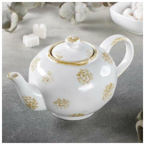 Чайник заварочный Доляна Золотой космос, 650 мл доляна чайник заварочный восточная ночь 600 мл зеленый