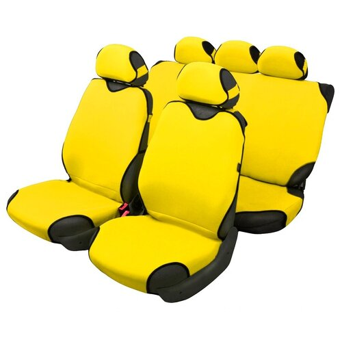 Чехлы-майки для автомобильных сидений AceStyle (желтый)