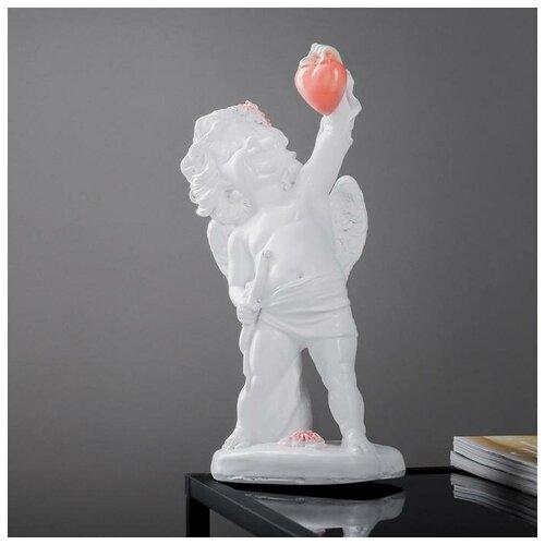 Фигура Ангел держит сердце 38см фигура малышка ангел белая 25х12х12см 4786376