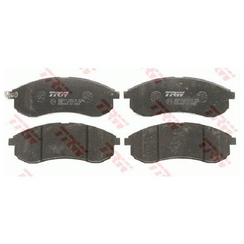 Фото - Дисковые тормозные колодки передние TRW GDB3380 для Mitsubishi L200 (4 шт.) дисковые тормозные колодки передние trw gdb3435 для mitsubishi pajero sport mitsubishi montero mitsubishi l200 4 шт