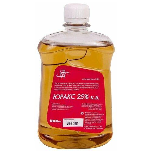 Юракс 25% к. э. 500мл - используется для борьбы с иксодовыми клещами, а также бытовыми насекомыми (тараканы, клопы, блохи, мухи, комары, муравьи).