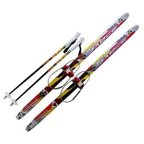 Комплект лыж Комби кабельное крепление 110 см