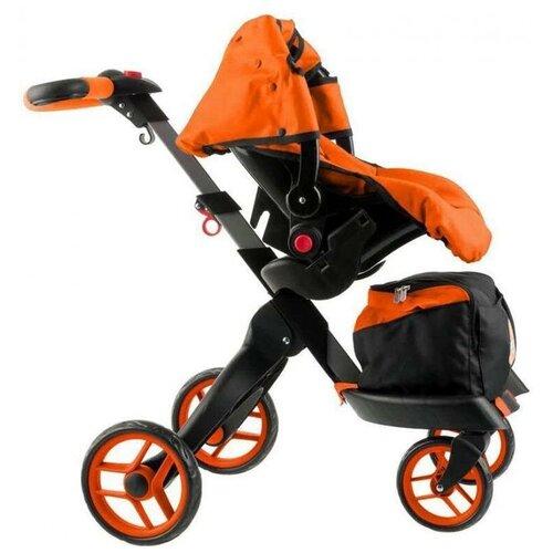 Фото - Коляска для кукол Buggy Boom Aurora 9005 многофункциональная прогулочная-трансформер 12 в 1 коляски для кукол buggy boom инфиниа 8459 2 в 1