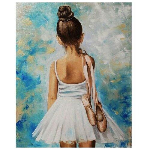 Купить Картина по номерам с цветной схемой на холсте 30х40 Путь к успеху (19 цветов) - KK0627, Molly, Картины по номерам и контурам