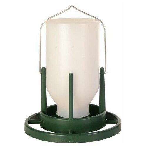 Кормушка для птиц уличная, 1 л/20 см, пластик, Trixie (товары для животных, 5452)