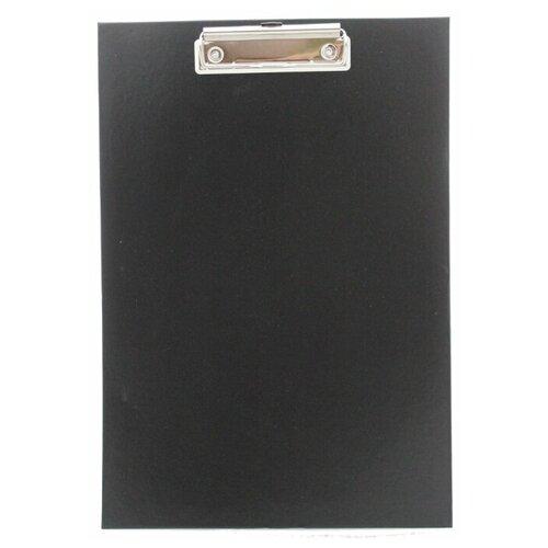 Клипборд (Папка планшет с зажимом), А4, черный
