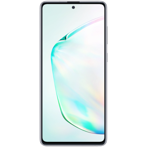 Смартфон Samsung Galaxy Note 10 Lite 6/128GB, аура смартфон samsung galaxy note 10 8 256gb aura glow аура