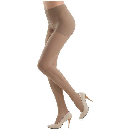 Колготки Conte Elegant Active Soft, 40 den, размер 5, bronz (бежевый) колготки женские active soft 20 conte elegant р 3 bronz