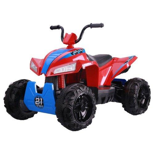 квадроцикл hoffmann 49482 1 43 красный RiverToys Квадроцикл T555TT, красный
