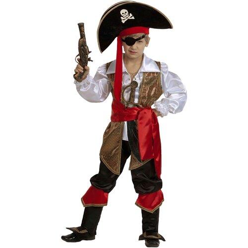 Костюм Батик Капитан Флинт (450), коричневый/черный, размер 146 брюки sela размер 146 коричневый