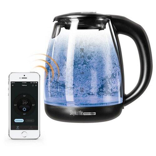 Чайник REDMOND SkyKettle RK-G210S, 1,7л, 2200Вт,стекло,управ. со смартфона чайник redmond skykettle g210s 2200 вт чёрный 1 7 л стекло